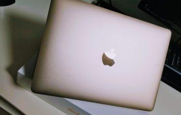 MacBook12インチ2017年モデルを購入。メイン端末に。