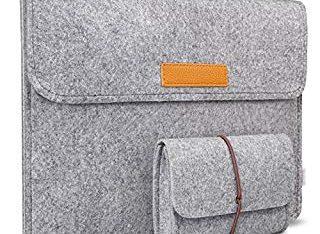 MacBook12インチのケース、小物入れ付き