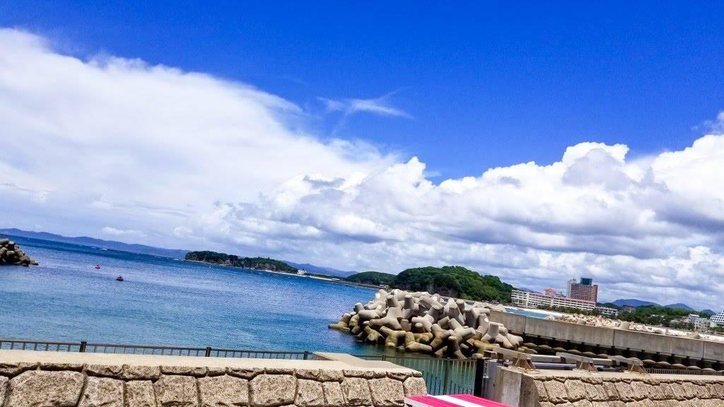 白浜 和歌山 海 Photo 雲 風景写真