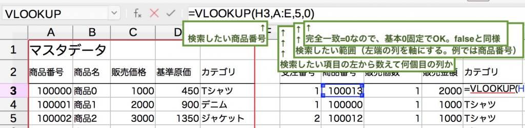 Excel関数 vlookup エクセル ビジネス関数