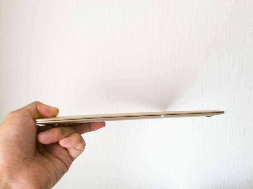 MacBook 12 Mid2017  薄い