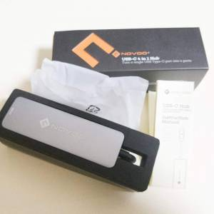 MacBook用USB-CハブNOVOOを購入