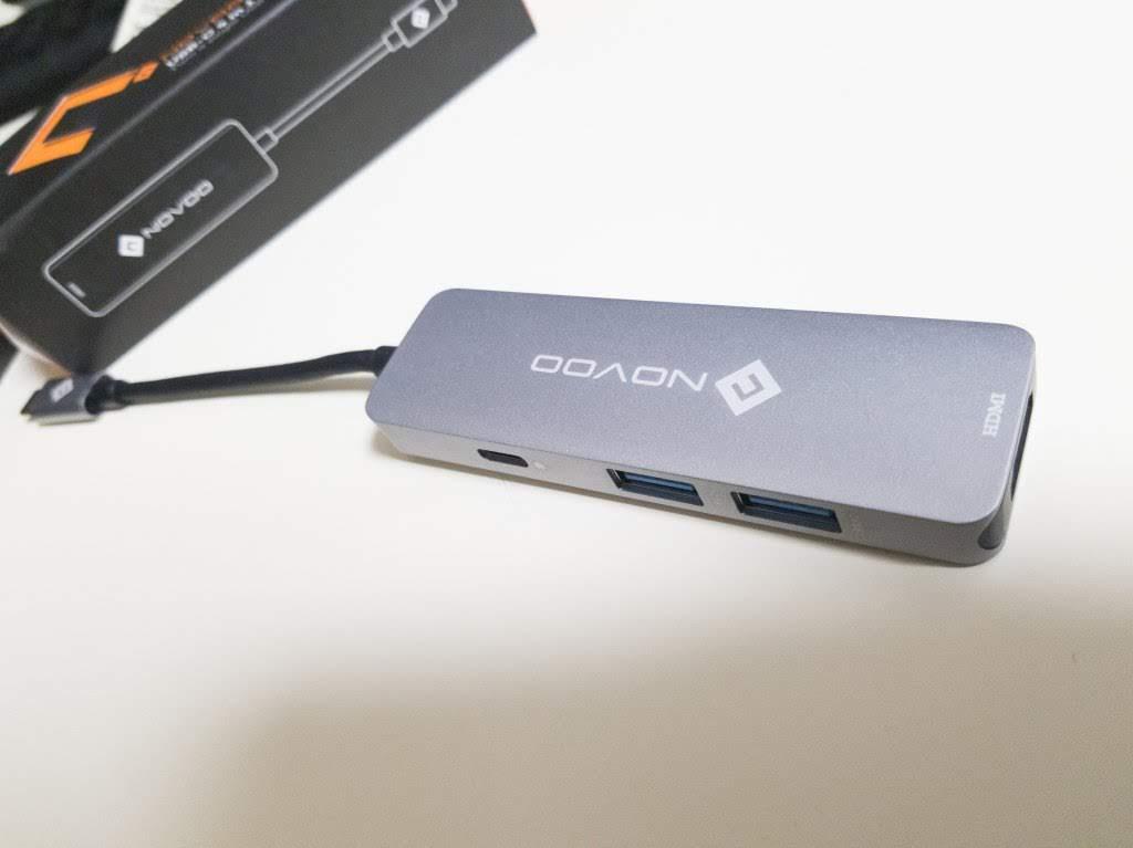 MacBook用USB-CハブNOVOO