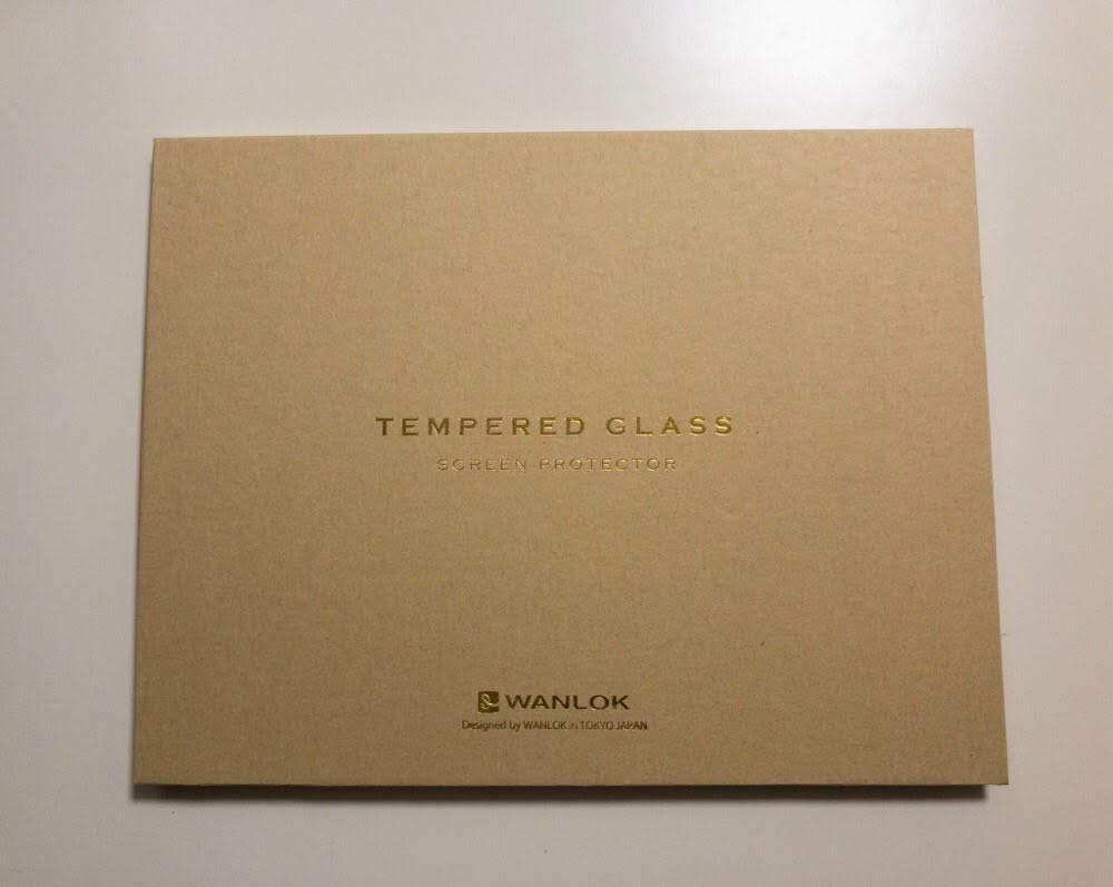 WANLOK iPad 9.7 インチ用 全面保護ガラスフィルム