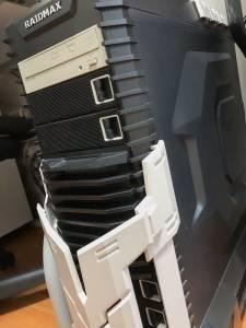 自作のWindowsデスクトップPC。#わたしのブログ環境 #お前らのpcデスク周り晒していけ
