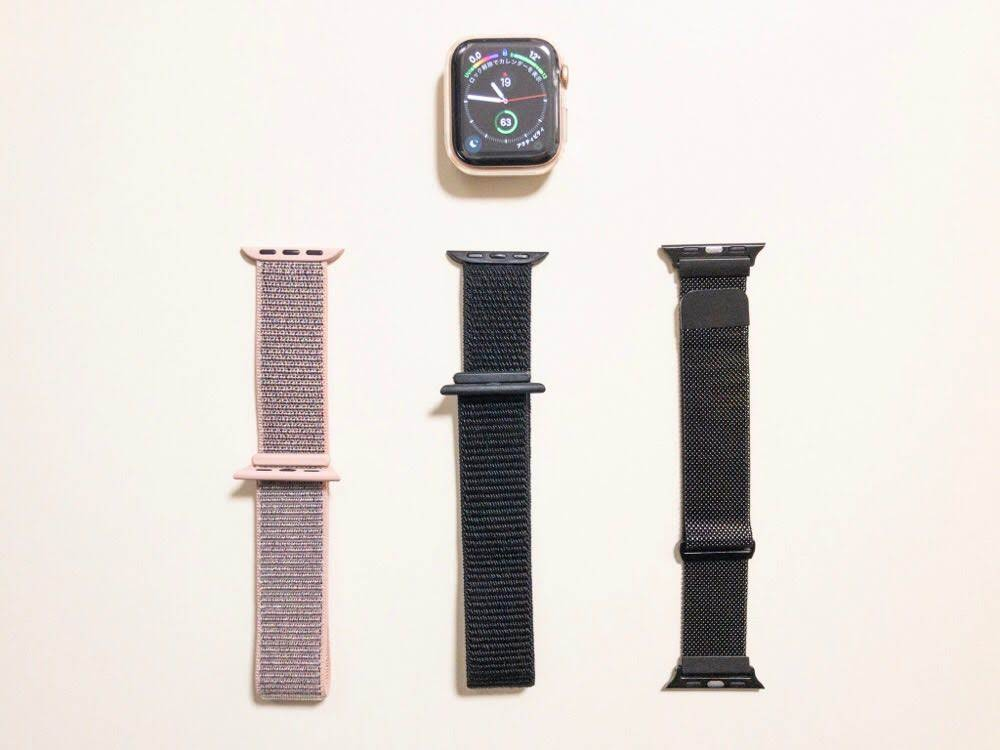 Apple Watch series4のバンド