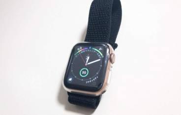 Apple Watch series4のサンドループスポーツバンド