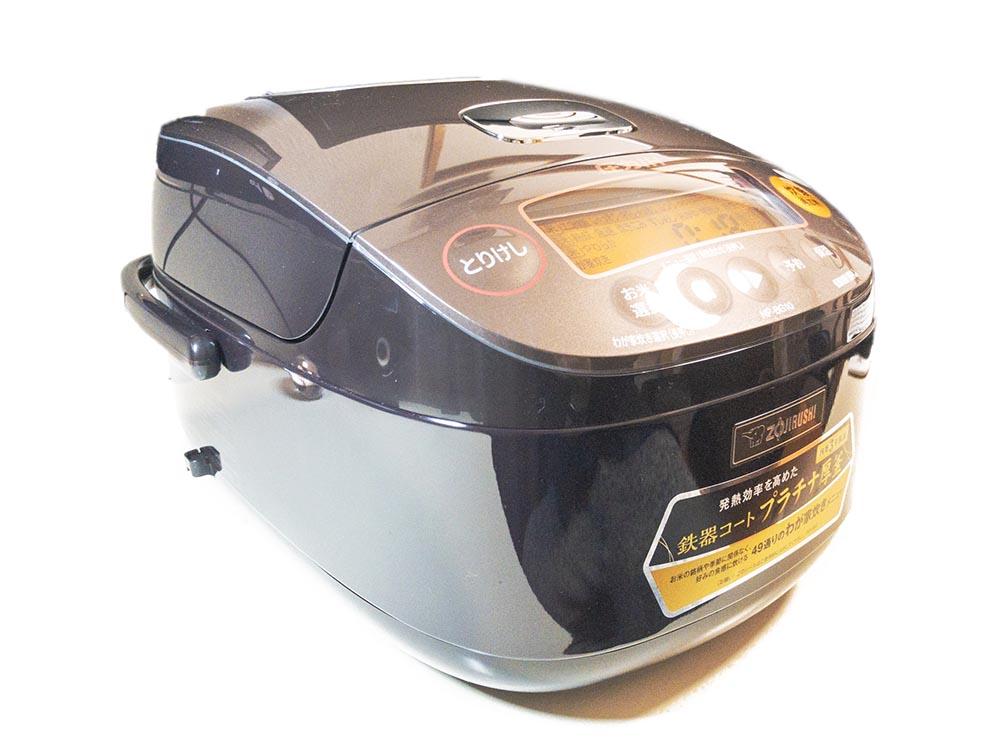 象印のNP-BG10-TD極め炊き炊飯器