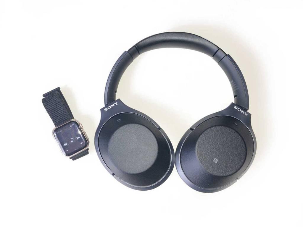 SONYのBluetoothヘッドホン「WH-1000XM2」とApple Watch4