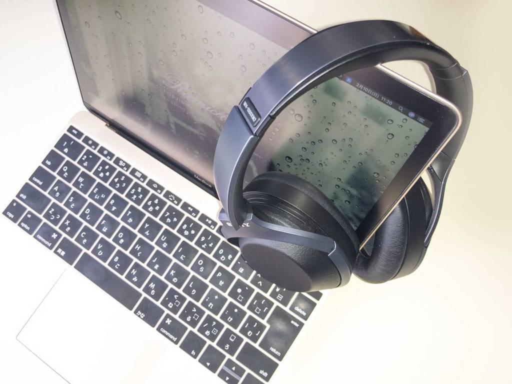 SONYのBluetoothヘッドホン「WH-1000XM2」とMacBook12
