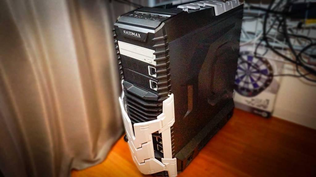 自作PCのWindows機を紹介。RAIDMAXのケース