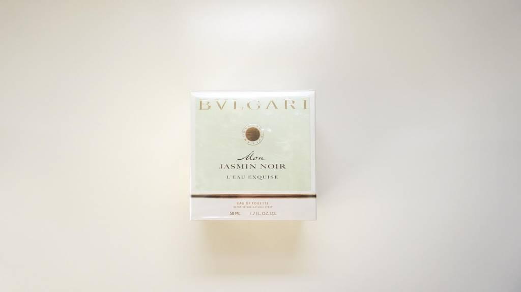 ブルガリ(BVLGARI) モンジャスミンノワール オー エキスキーズ オードトワレのパッケージ