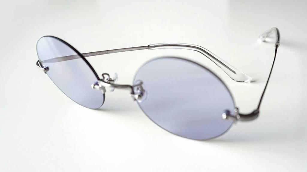 ルイログが2019年8月に買ったモノ「Zoffのカラーレンズメガネ」