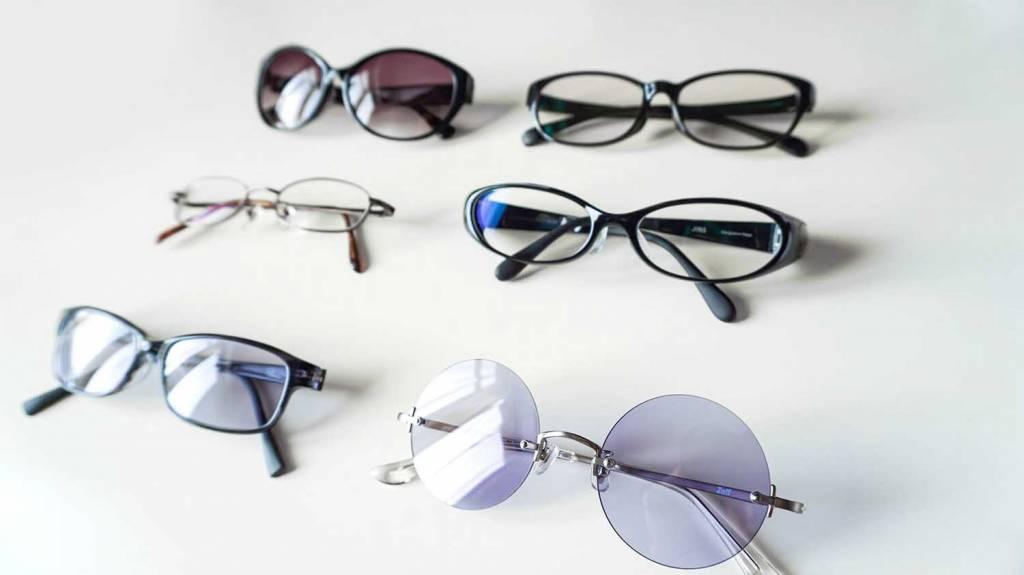 ルイログのメガネ・サングラスコレクション
