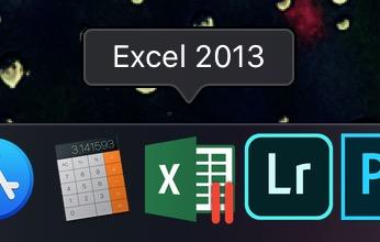 Parallelsデスクトップで起動するExcel