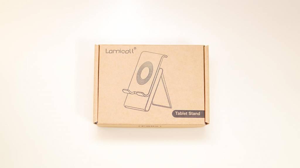 Lamicallタブレットスタンドの梱包