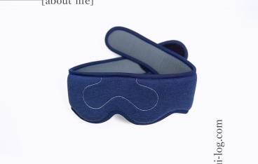 USB3Dヘッド立体蒸気アイマスクをルイログがレビュー