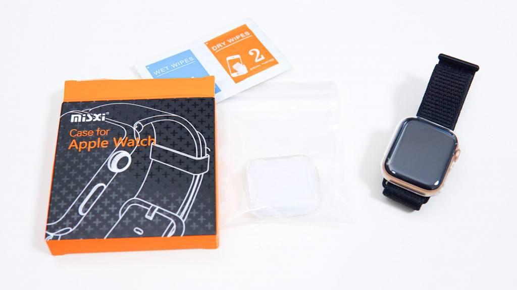 Misxi、AppleWatch全面保護ケースをApple Watchに装着