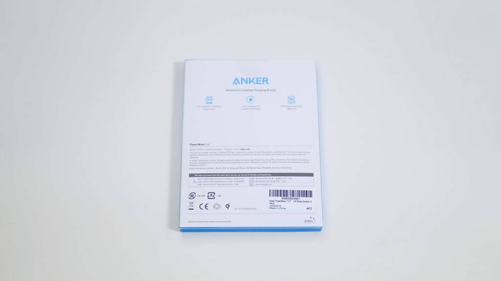 AnkerのQi充電器PowerWave10Pad(改善版)