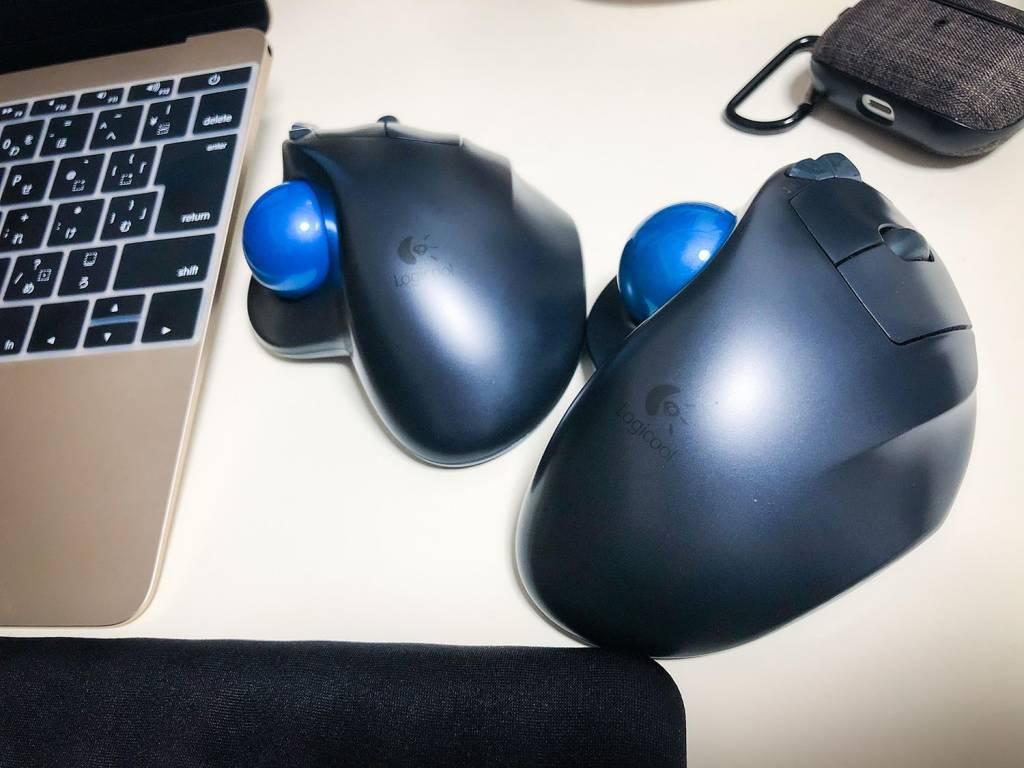 M570とM570tトラックボール