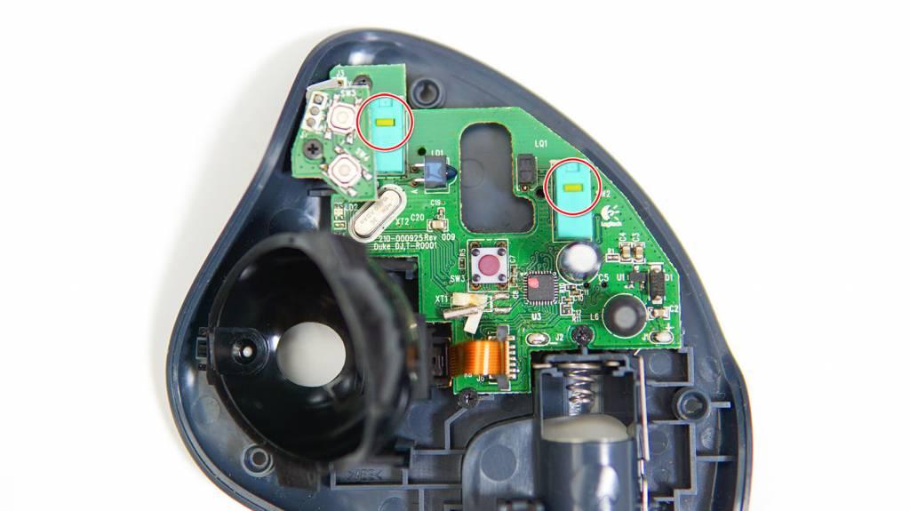 M570を分解してチャタリングを修理する