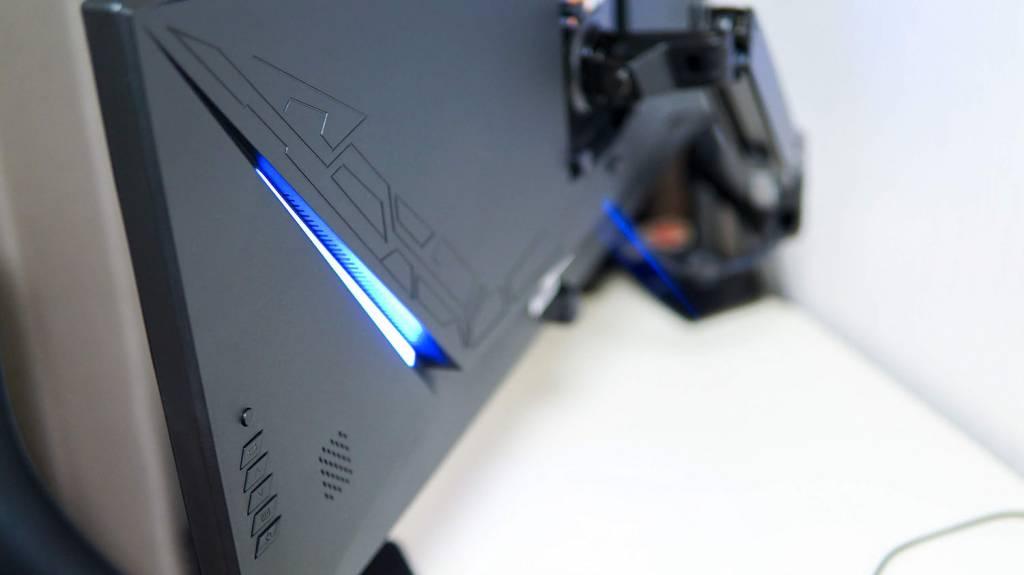 ウルトラワイドディスプレイ JN-VG34100UWQHDR裏面
