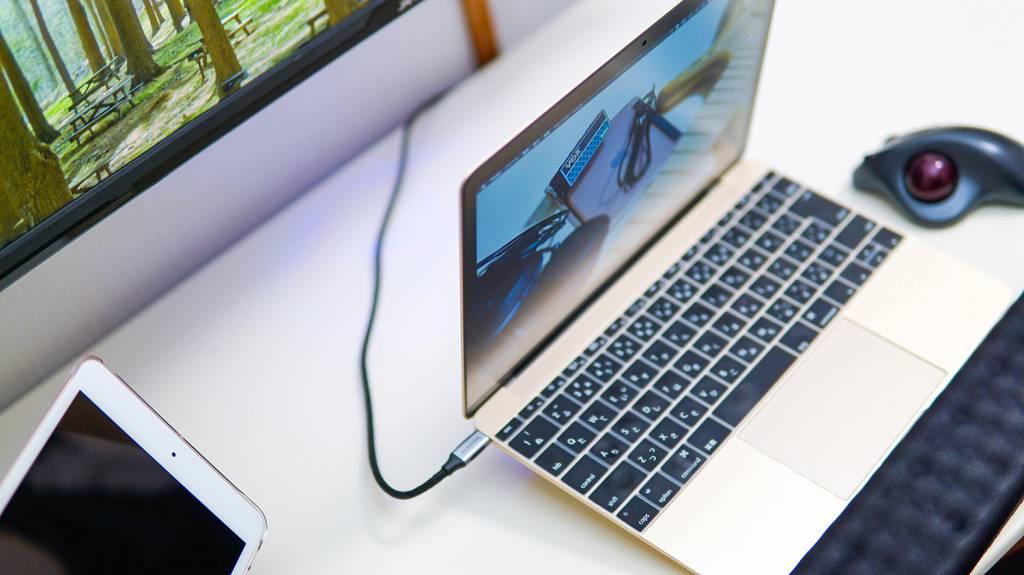 MacBookにUSB-Type-C一本でドッキングステーションを接続