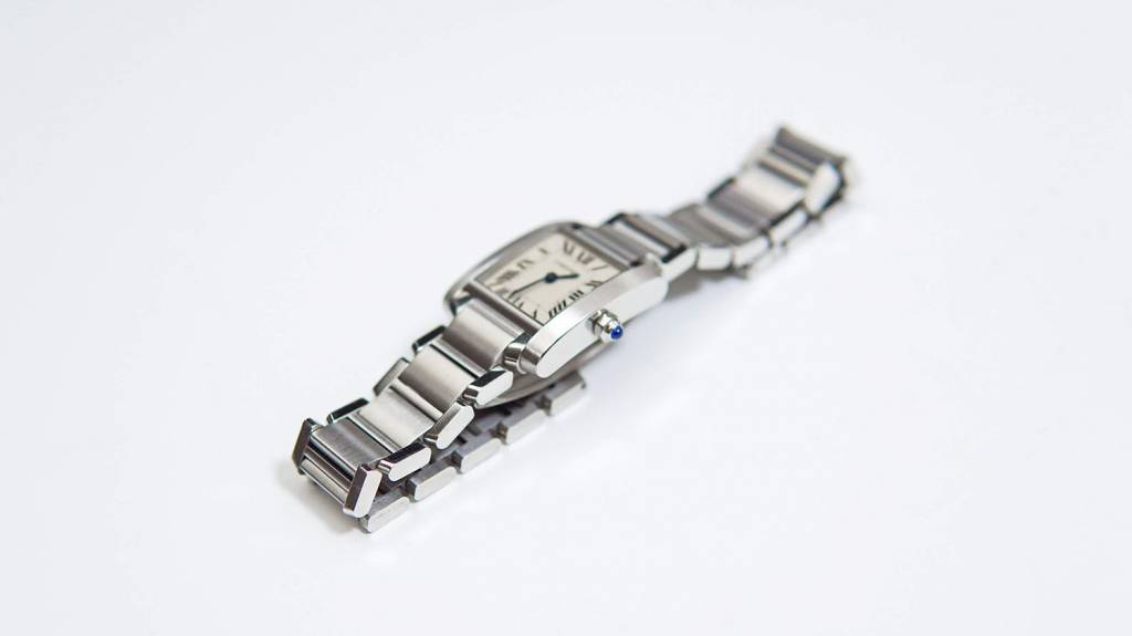 Cartierの腕時計タンク