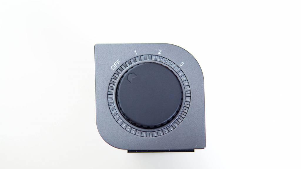 ELECOM(エレコム)USB扇風機「FAN-U177BK」のコントロール部