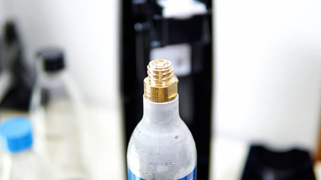ソーダストリームのガスシリンダー