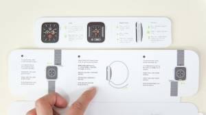Apple Watch 6 のバンド説明書