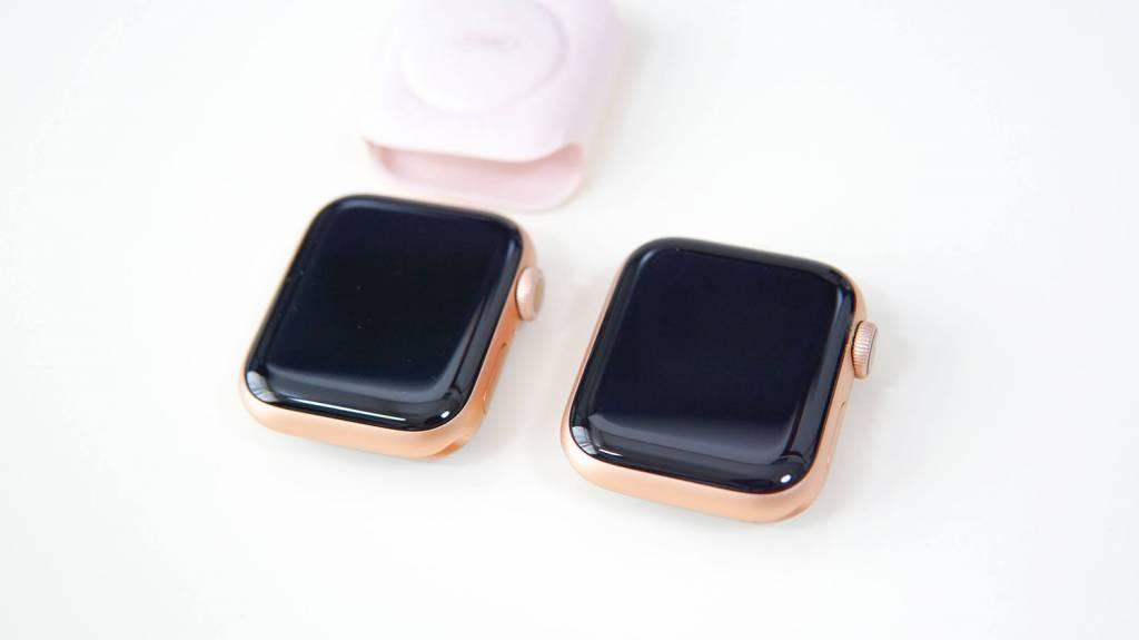 Apple Watch 6とApple Watch 4本体比較