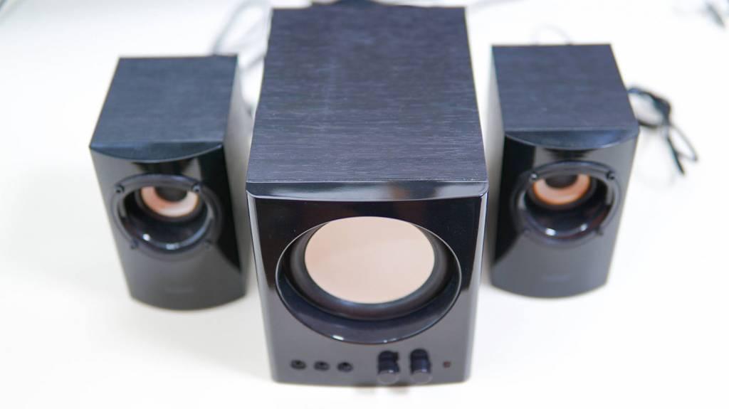 ELECOMの2.1chスピーカー