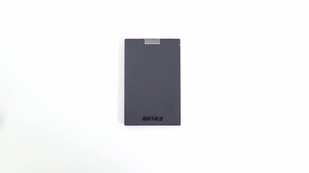 外付けポータブルHDD:HD-PCG1.0U3-BBA