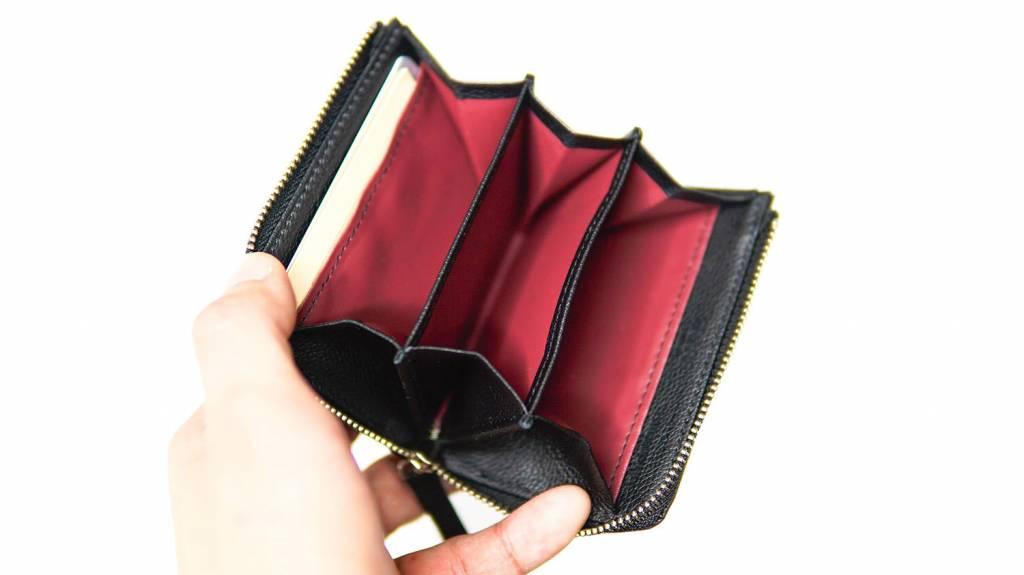 PRARE GINZA イタリアンレザーミニ財布