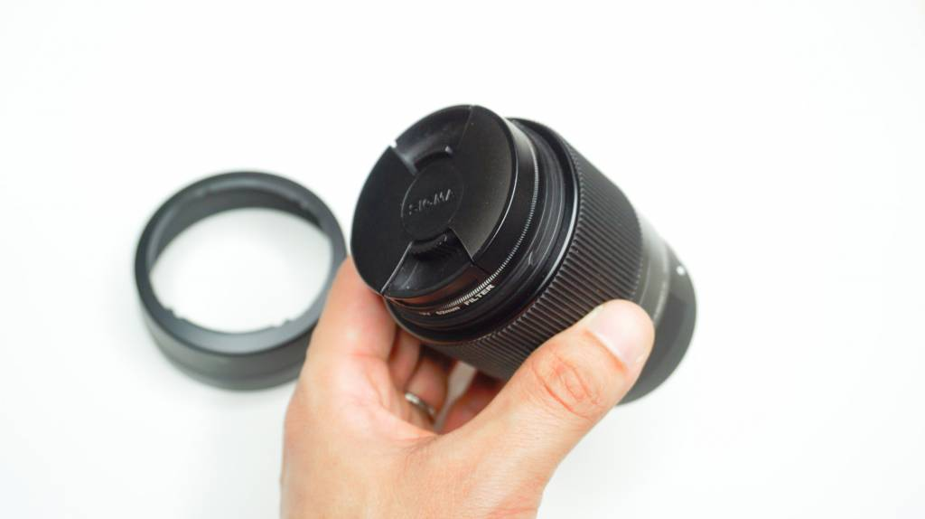 SIGMA 30mm F1.4 DC DNレンズ本体