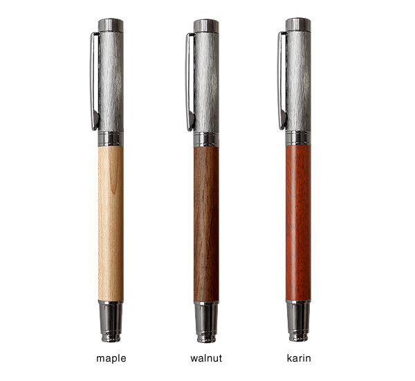 Hacoa+LUMBER:ラウンドボディボールペンのカラーバリエーション