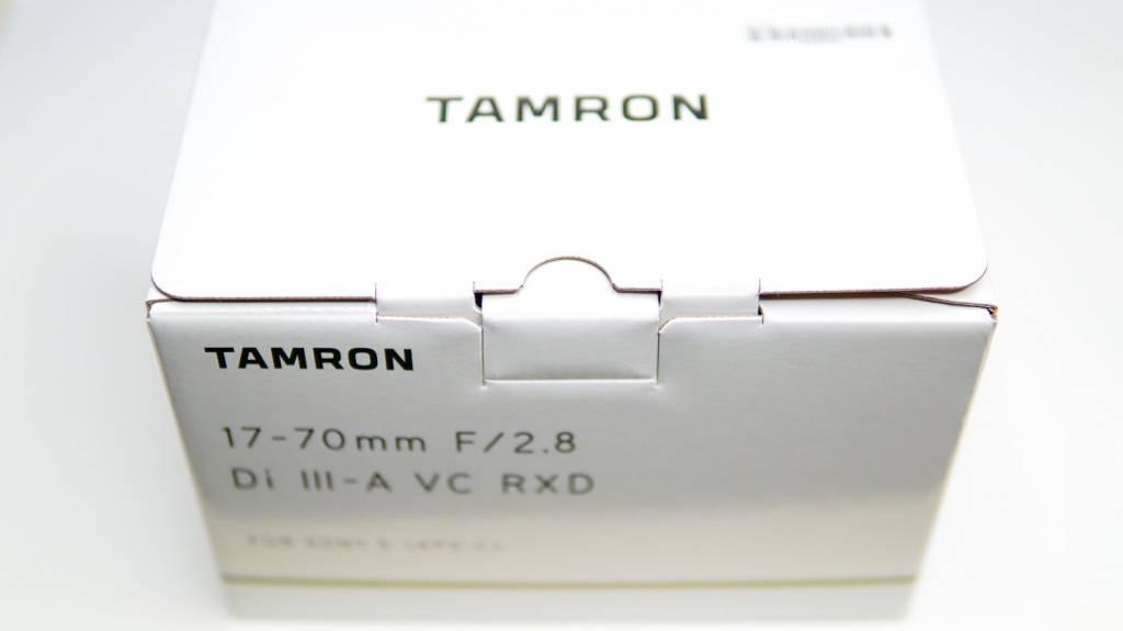 TAMRON(タムロン)17-70mm F/2.8 Di III-A VC RXD (Model B070)をレビュー