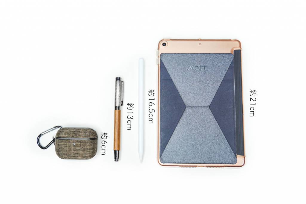 JAMJAKEi製Pad用格安スタイラスペン本体のサイズ比較