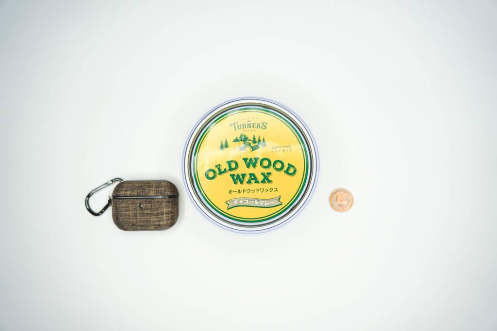 ターナー(TURNERS) OLD WOOD WAX チャコールグレーのサイズ比較