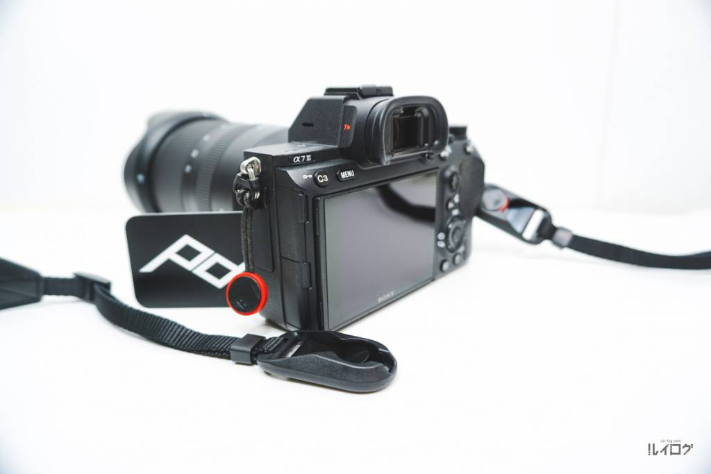 Peak Design(ピークデザイン)アンカーリンクスAL-4をα7iiiに装着