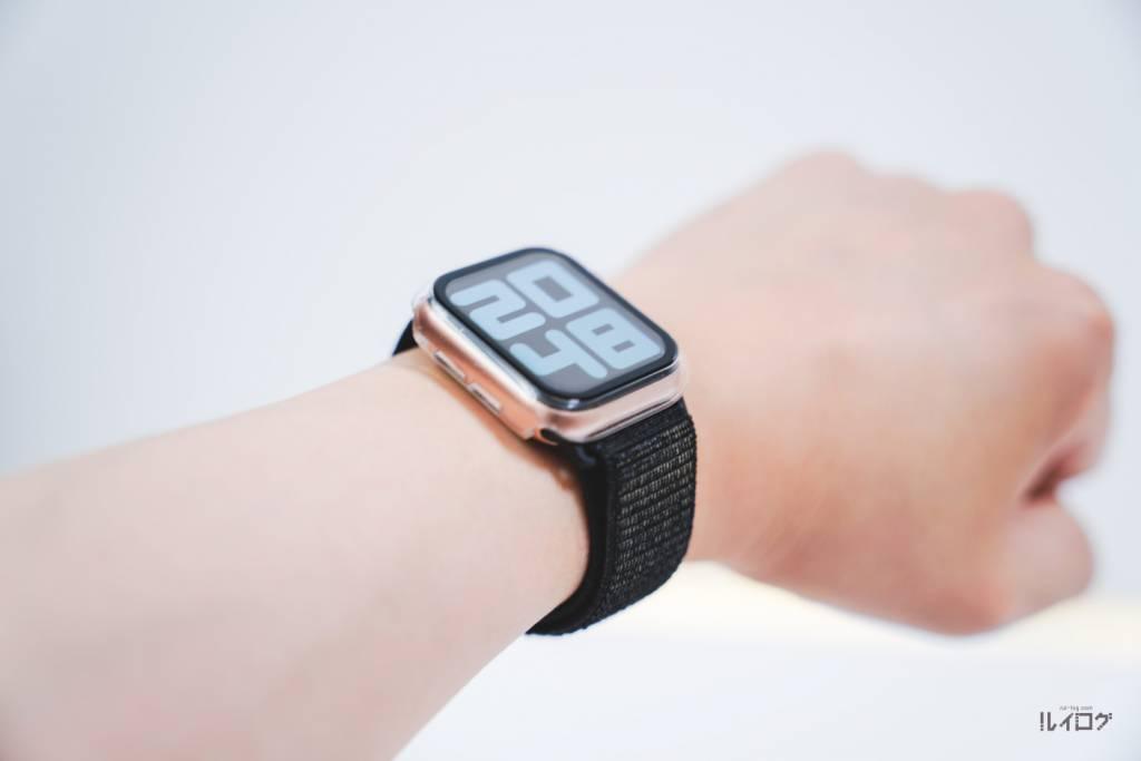 Apple Watch6をつけたルイログの腕