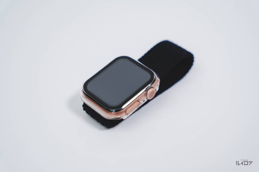 サードパーティー製ブレイデッドソロループをApple Watch6に装着