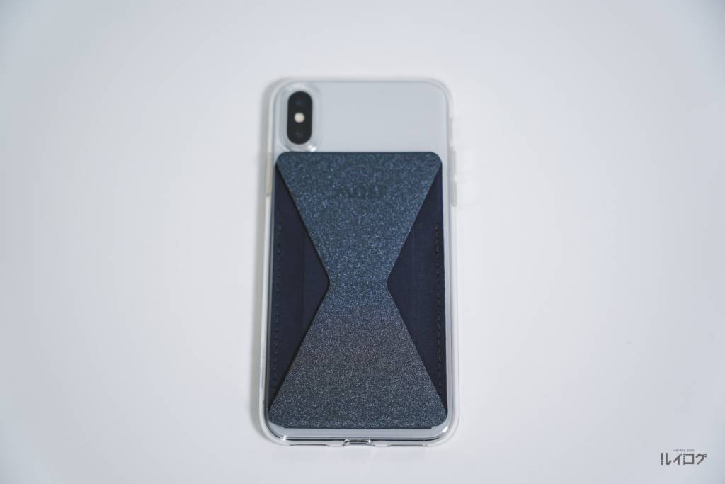 MOFT XをiPhoneXに装着