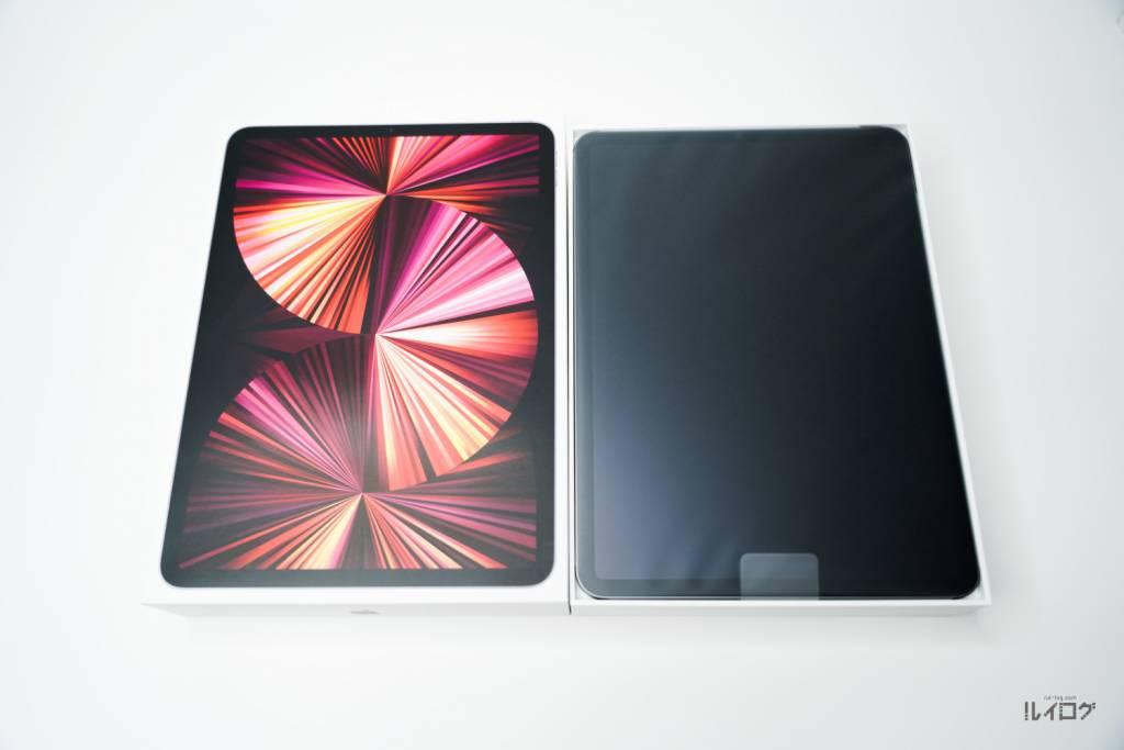Apple iPadPro11(第3世代)M1 2021を開封