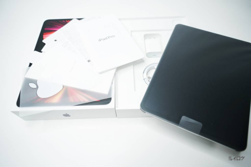 Apple iPadPro11(第3世代)M1 2021を開封、同梱物