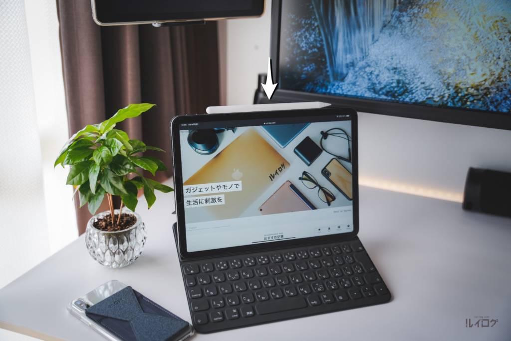 Apple iPadPro11(第3世代)M1 2021とルイログのPCデスク周り