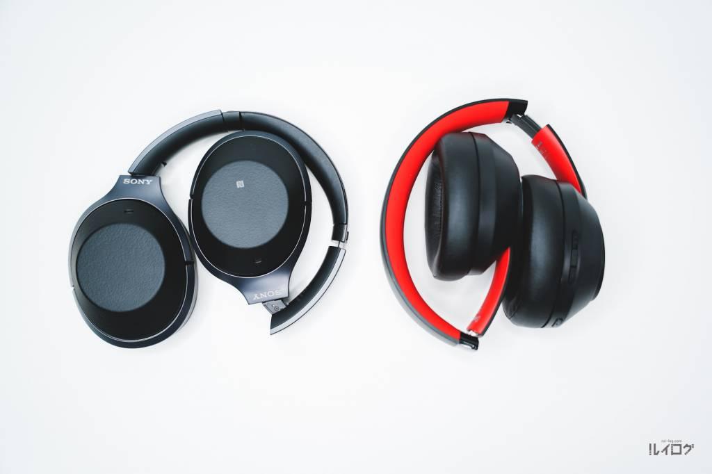 OneOdio Super EQ S1ノイキャンヘッドホンとSONY WH-1000XM2
