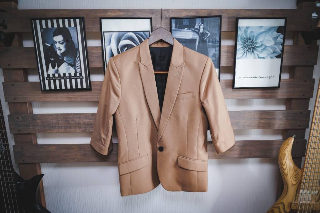 GOSTAR DE FUGAの七分袖ジャケット