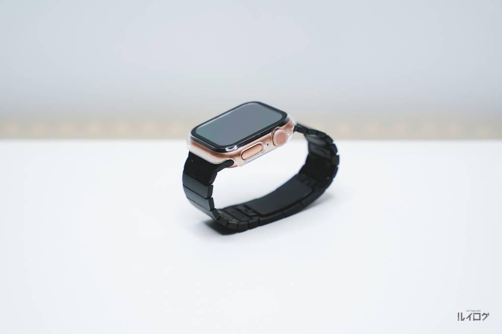 AppleWatchの格安リンクブレスレットをAppleWatch6に装着